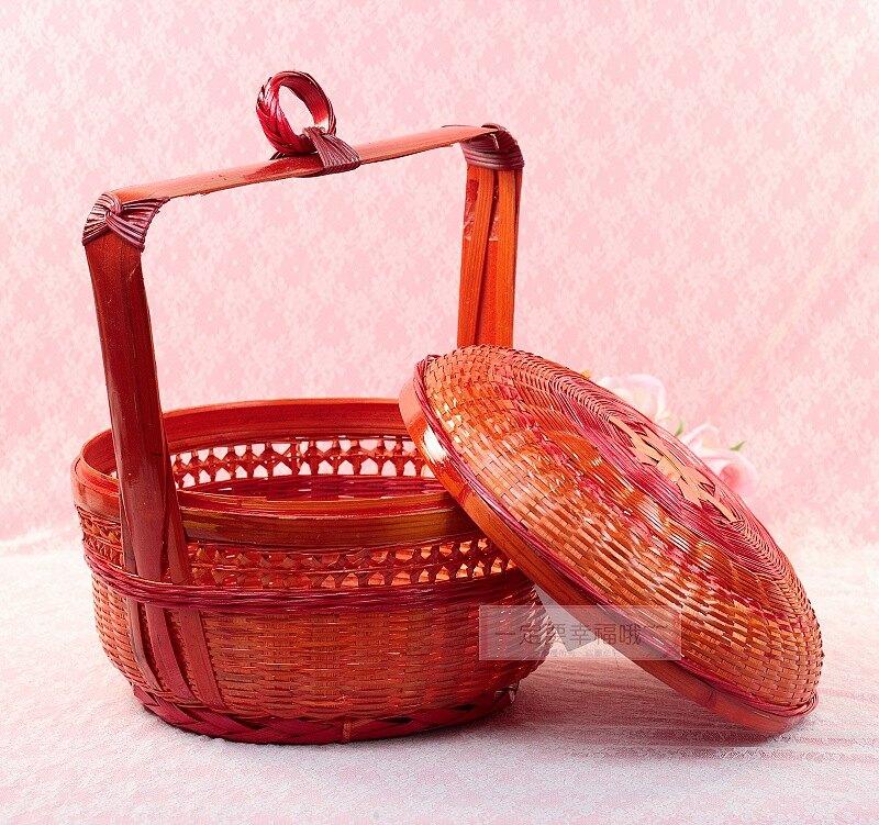 竹謝籃(1尺) 、結婚用品、婚俗用品