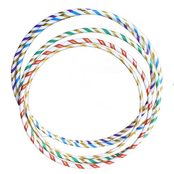 呼啦圈 2號雷射晶晶彩虹呼拉圈/一件17個入(定300) 直徑約94cm~台灣製造