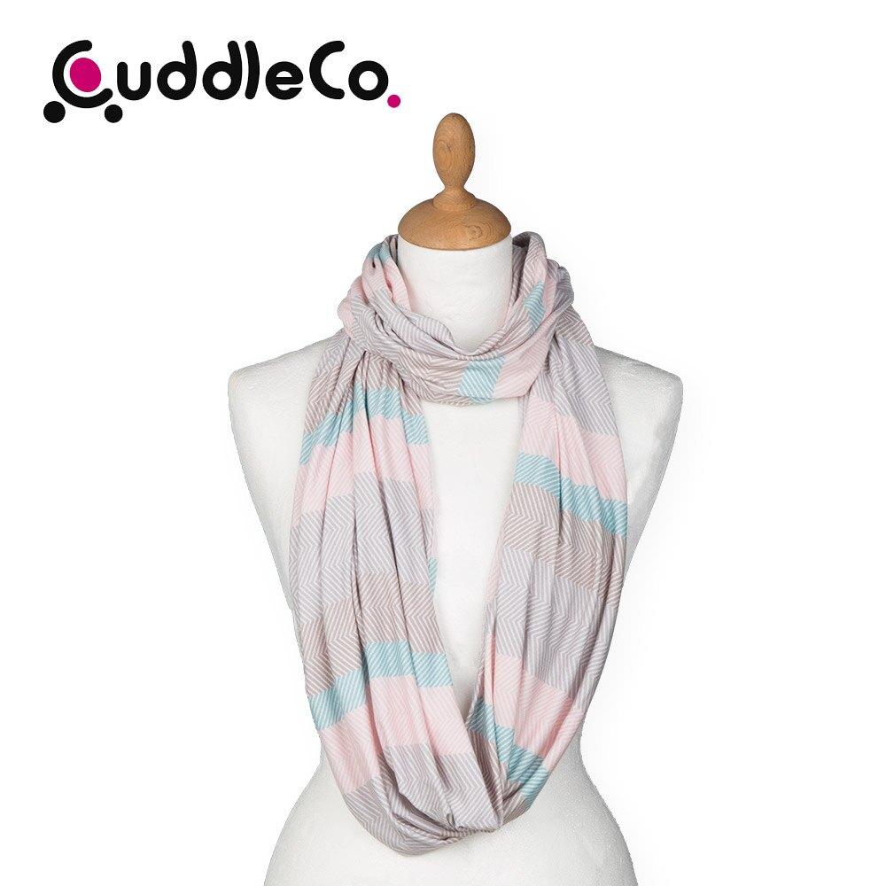 英國 CuddleCo 多功能時尚造型哺乳圍巾-北歐條紋 (哺乳巾 圍巾 哺乳遮巾)