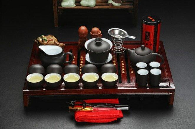 茶具 復古茶具套裝組 C款 泡茶 茶具組 茶杯 茶壺 茶 外出茶組 茶組 送禮首選 茶盤組