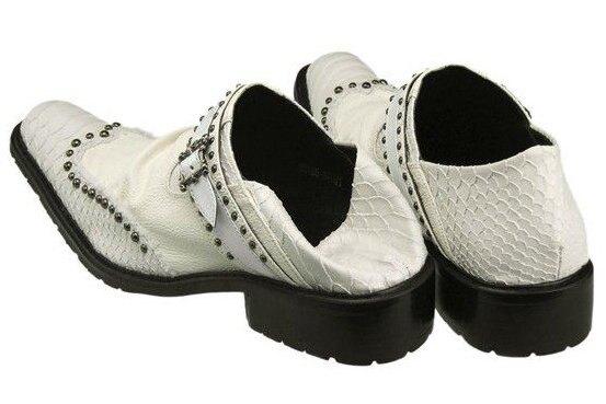☆真皮皮鞋 尖頭鞋-時尚流行個性男休閒鞋6s43【義大利進口】【米蘭精品】