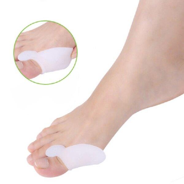 2個1組 拇指外翻 腳趾外翻 矯正器 矯正套 矯正帶 保護矯正墊 腳趾套 防護墊 足部 大腳骨 鞋墊(V50-1226)
