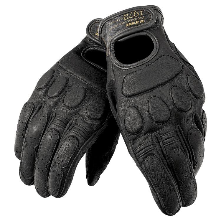 ~任我行騎士部品~Dainese Blackjack Gloves 黑 復古 山羊皮 皮手套 凱旋 vespa 哈雷