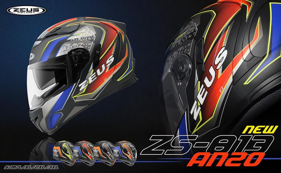 ~任我行騎士部品~瑞獅 ZEUS ZS-813 AN20 消光黑螢光黃 雙鏡片 空力王者 全罩 安全帽 ZS 813