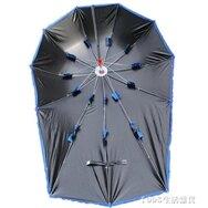 新黑膠電動電瓶踏板摩托自行車遮陽傘雨棚蓬擋風罩擋雨防曬遮雨傘  NMS 女神節樂購