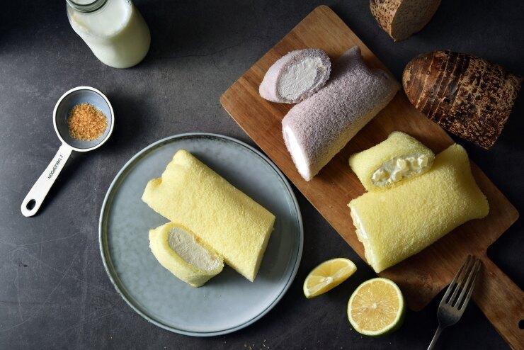 純生鮮奶堡 重量:140克10g /條