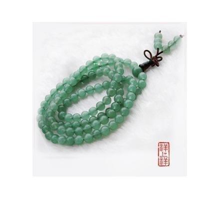 水晶東陵玉石項鏈108顆佛珠念珠手鏈男女款式飾品