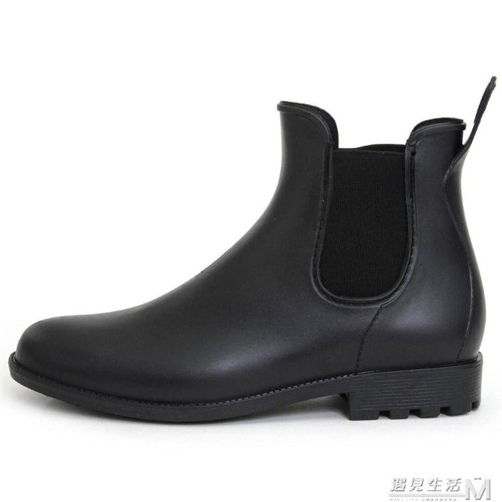 男士雨鞋釣魚靴水鞋套鞋膠鞋防水鞋防滑成人戶外雨靴  遇見生活 聖誕節禮物