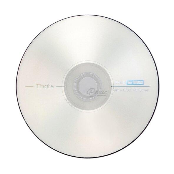 That's 日本製 DVD-R 1-16倍速 10片桶裝 光碟 DVD 太陽誘電