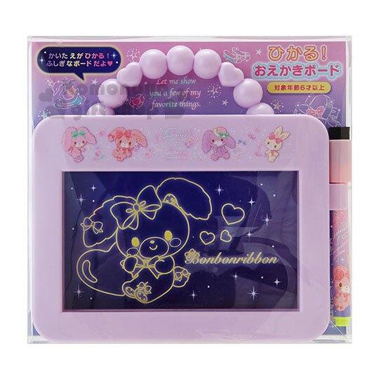 小禮堂 蹦蹦兔 可提式畫板玩具附筆《紫.下午茶》繪圖玩具.兒童玩具