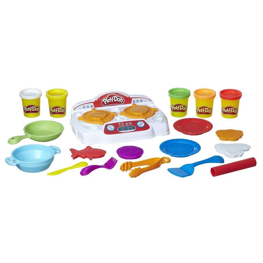 【領券滿額折150】Play-Doh培樂多廚房系列 吱吱火爐料理組(0630509514519) 764元 618購物節