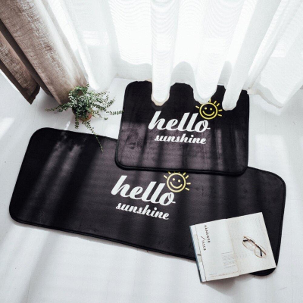 ✤宜家✤時尚創意地墊209 廚房浴室衛生間臥室床邊門廳 吸水長條防滑地毯(50*150cm)
