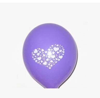 加厚印花愛心氣球