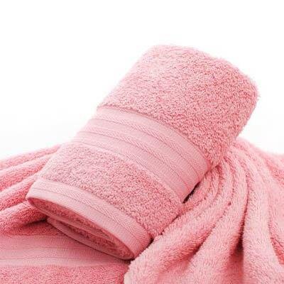 【酒店級純棉毛巾-35*75cm-2條/組】成人家用洗臉巾柔軟吸水男女通用面巾(可混搭)-7101014