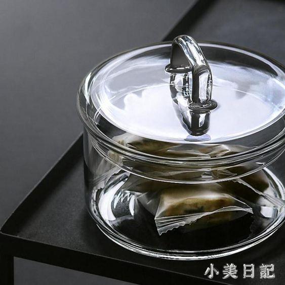 和風泡麵湯飯碗透明玻璃碗帶蓋家用簡約創意組合食材收納碗料理用