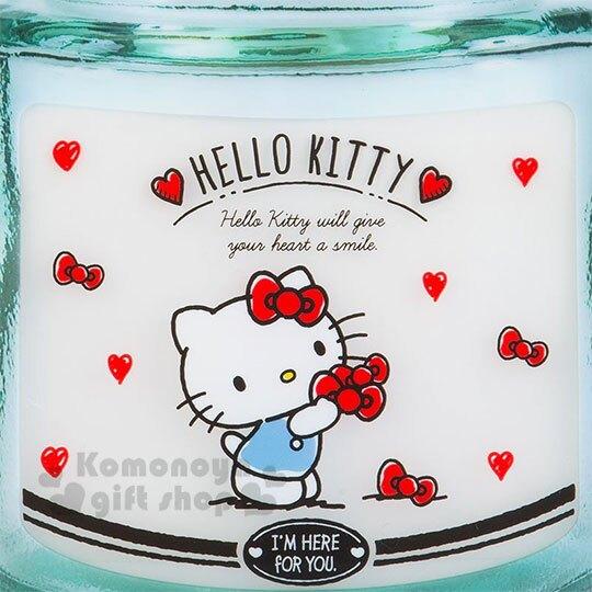 小禮堂 Hello Kitty 罐子造型透明夾鏈袋組《4入.紅.拿蝴蝶結》分類袋.分裝袋.收納袋
