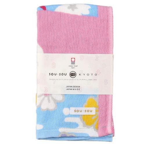 【SOU・SOU/日本製】京之雅長毛巾 洗臉毛巾 今治毛巾 34x80cm