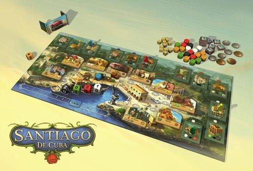 古巴 聖地亞哥 Santiago de Cuba 繁體中文版 高雄龐奇桌遊 正版桌遊專賣 桌上遊戲商品