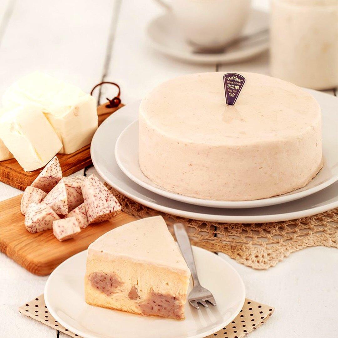 【不二緻果-高雄不二家】(含運)6吋真濃芋 ★超人氣經典-重乳酪蛋糕★港都82年老店