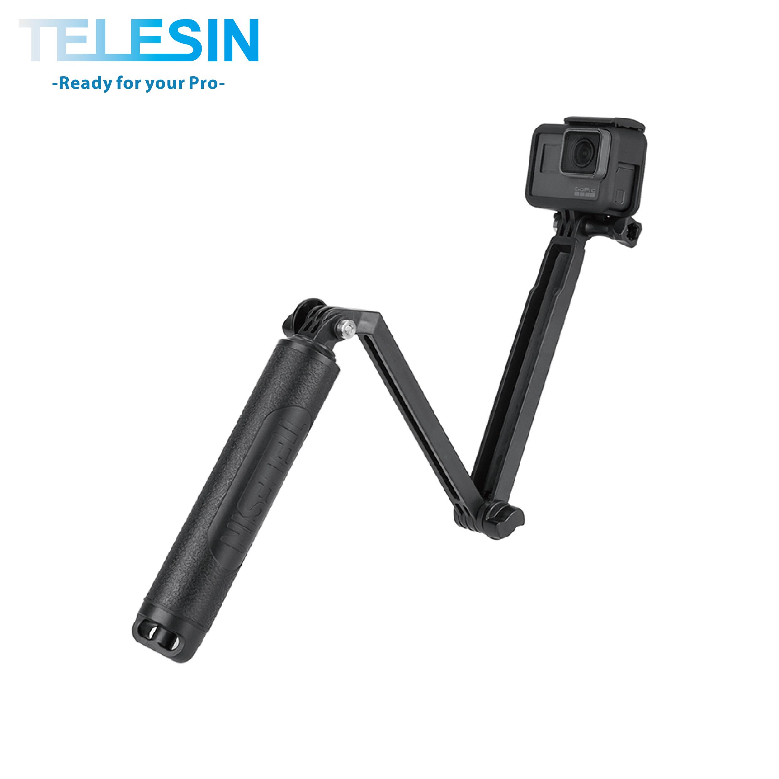 TELESIN 3-WAY 三折自拍桿 (浮力版)
