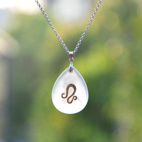 獅子座開運水晶飾品創意生日禮物 男女項鏈