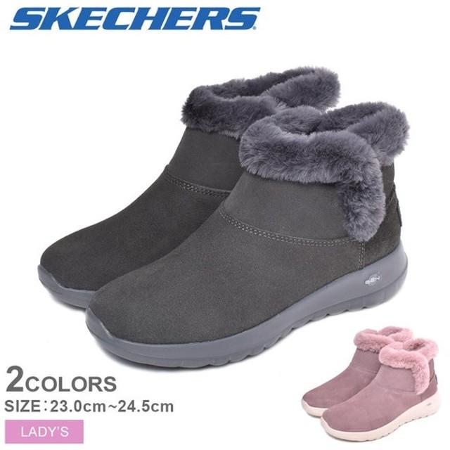 (店内全品クリアランス) SKECHERS スケッチャーズ ブーツ レディース ON-THE-GO JOY-BUNDLE UP 15501 靴