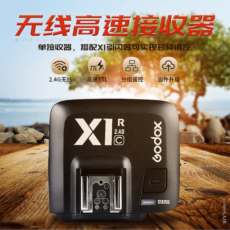 [享樂攝影]公司貨 神牛 GODOX X1RX-N 接收器 for Nikon TTL高速同步1/8000 NCC認證X1R