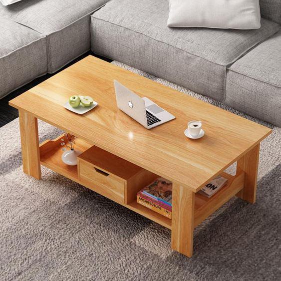 不要前5   茶幾 簡約 客廳休閑迷你小茶桌 長方形多功能小戶型簡易小茶幾桌  ATF