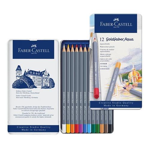 Faber Castell Goldfaber 水性色鉛筆 12色