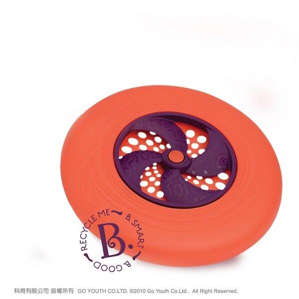 【淘氣寶寶】飛盤迪斯可 橘【檢驗符合最高安全標準/沒有外部塗料,保證無毒】
