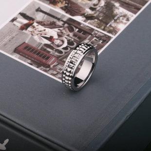 鎢金戒指 男士戒指 潮人 男性飾品 食指戒子 奢華氣質