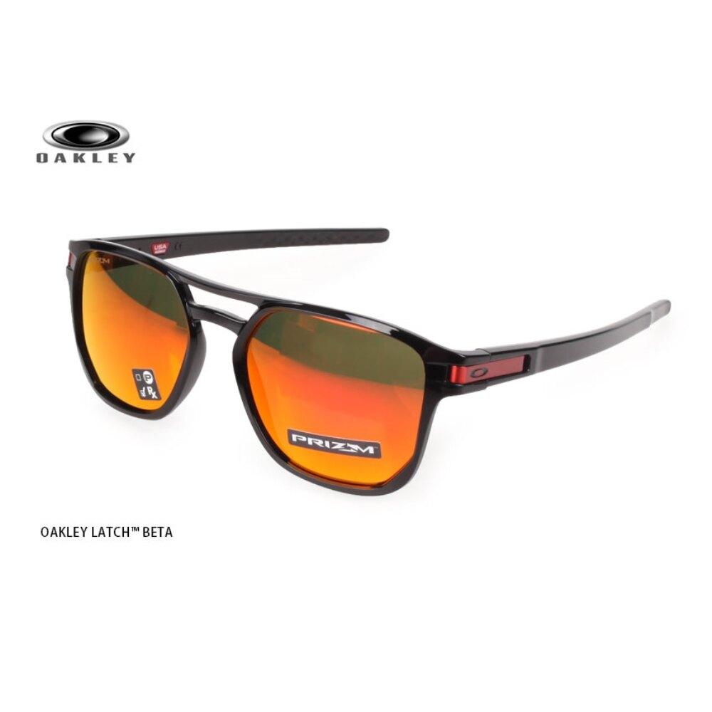 OAKLEY LATCH BETA 一般太陽眼鏡(附鏡袋無鼻墊 免運 抗UV 登山【OAK-OO9436-0754】≡排汗專家≡