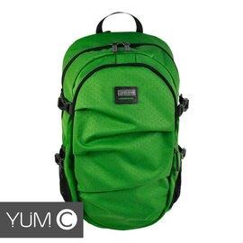 【美國Y.U.M.C. Greenwich格林系列Active Backpack 15.6吋筆電後背包 綠色】電腦包/雙肩背包 可容納15.6吋筆電 【風雅小舖】