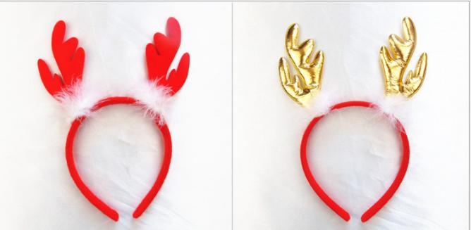 東區派對-聖誕節服裝,聖誕帽/聖誕節髮箍/聖誕鹿角髮箍