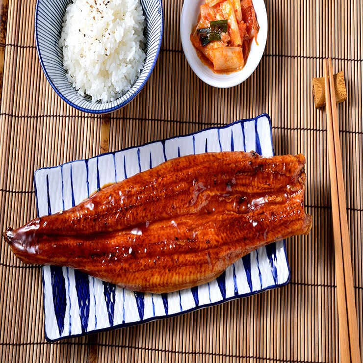 【良墨卷】外銷日本 頂級蒲燒鰻魚 鰻魚飯250-300G 真空包裝 加熱即食