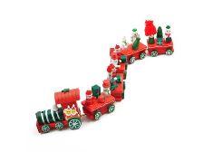 木質小火車 (30.5cm) | 聖誕裝飾品 | 小火車 | 聖誕節 | 裝飾品 | 擺飾品 | 【愛家便宜購】