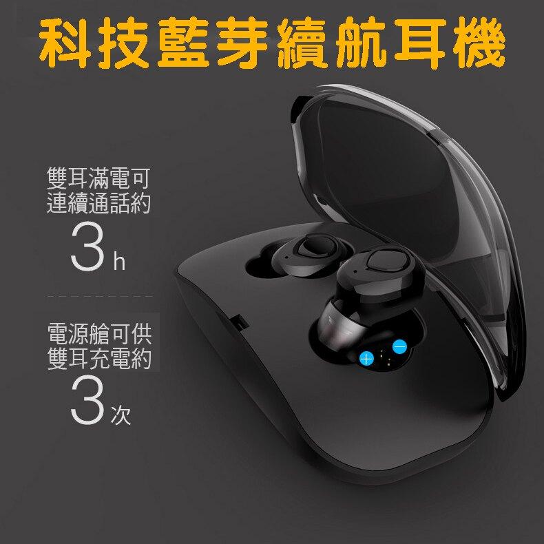 迷你科技藍芽雙耳無線耳機充電倉 台灣NCC認證 來電報號 雙耳 聽音樂  開車通話 運動 上課 遊戲