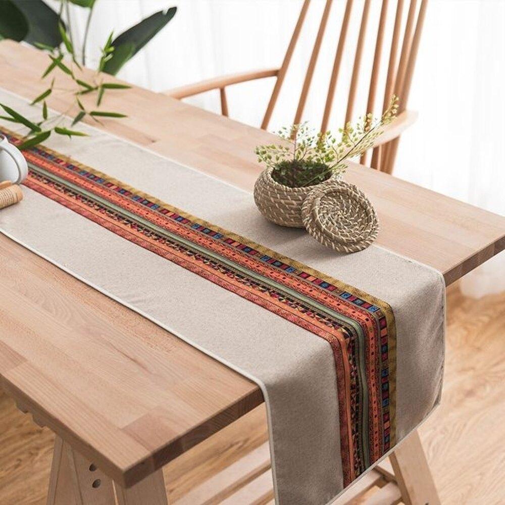 時尚可愛空間餐桌布 茶几布 隔熱墊 鍋墊 杯墊 餐桌巾桌旗 486 (30*270cm)
