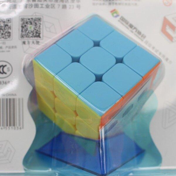 3x3魔術方塊 炫指舞 冠龍魔術方塊(實色)YJ9617/一袋10個入{定100} 永駿三階比賽專用魔方 5.7cm~鑫