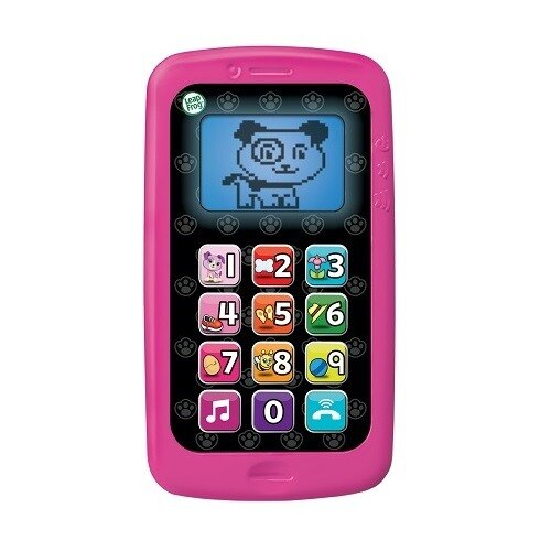 【LeapFrog】 美國跳跳蛙 數數聰明小手機 (粉/綠)