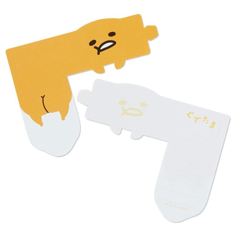 蛋黃哥Gudetama 可掛式便條紙,便條紙/信封/信紙/信套紙/卡片紙/收納盒/筆記本/便利貼/備忘錄,X射線【C556344】