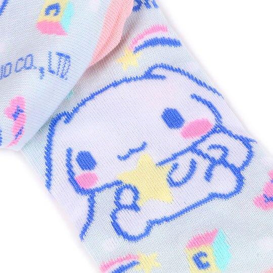 小禮堂 大耳狗 成人及踝襪《粉藍.積木》腳長23-25cm.短襪.棉襪