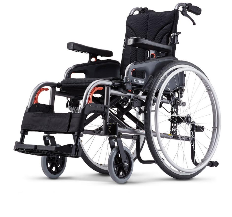 來而康 康揚 鋁合金輪椅/手動輪椅 KM-8522 flexx 變形金剛  訂製款 輪椅補助C款 附加功能A款  贈 輪椅置物袋