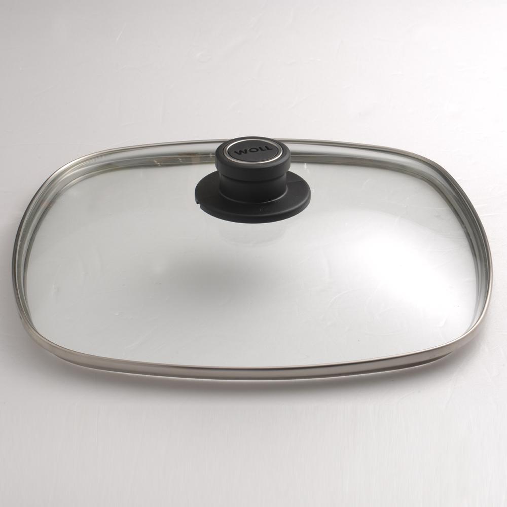 【德國WOLL】方型玻璃鍋蓋 防爆 安全 28cm -618年中慶