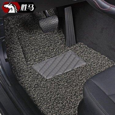 免運 汽車絲圈腳墊專用于2018款廣汽本田新飛度車思域繽智鋒范凌派地毯