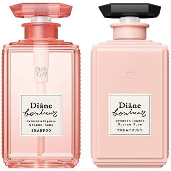 【セット品】ダイアン ボヌール グラースローズの香り ダメージリペア シャンプー 500mlと、トリートメント 500ml のセット