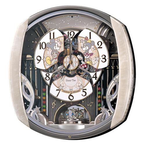 大賀屋 Seiko 迪士尼 音樂 掛鐘 壁鐘 時鐘 光感應 機械鐘 米奇 米妮 Disney 精工 日貨 O10006