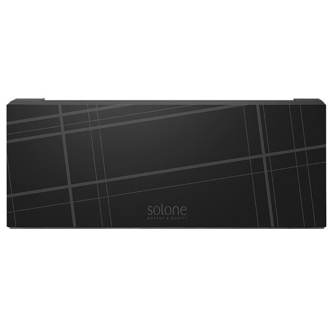 Solone 彩妝收納盒12格(經典格紋)