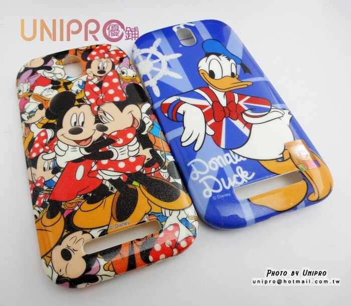 UNIPRO HTC ONE SV C520E T528T 迪士尼 米奇 米妮 唐老鴨 tpu 軟殼 手機殼