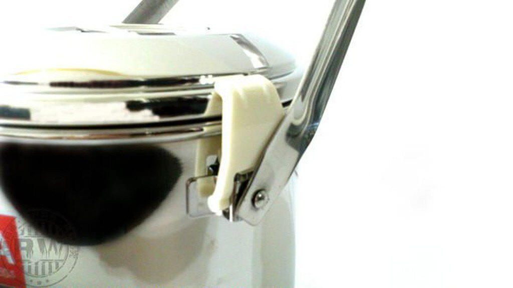 ZEBRA斑馬牌新款無鉚釘不鏽鋼附扣提鍋『附分隔菜層』12cm/14cm/16cm 304不銹鋼湯鍋調理鍋外帶環保餐具